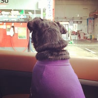 Photo taken at 出光 宇佐美 前沢SA上り線SS by Etsushi S. on 1/3/2014