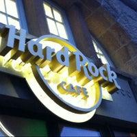 Das Foto wurde bei Hard Rock Cafe von Florian B. am 11/17/2012 aufgenommen
