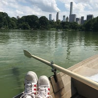 Photo taken at Central Park Rowboat by Lauren M. on 7/16/2017