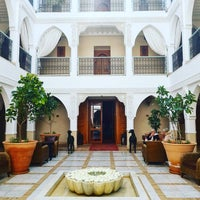 Photo taken at Riad Villa Blanche by Sao O. on 3/18/2018