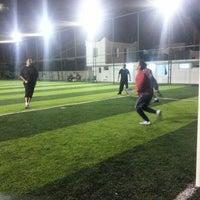 Photo taken at meşelik köyü spor kompleksi by Ferhat Emel A. on 5/15/2014