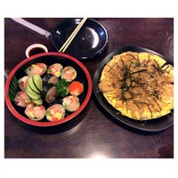 Photo taken at Okonomi Japanese Resturant by Eve. B. on 5/30/2014