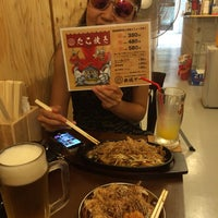 Photo taken at 鉄板ヤード -Takoyaki Dinning- by 一平 西. on 8/17/2014