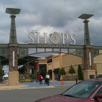 Photo taken at The Outlet Shops of Grand River by EarthWindFire82 on 10/8/2012