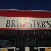 Photo taken at Brusters Ice Cream by Joe W. on 3/15/2014