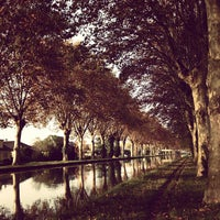 Photo taken at Canal du Rhône au Rhin by David S. on 10/24/2012