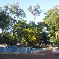 Photo taken at San Martin Hotel & Resort Foz do Iguaçu by Anibal B. on 2/26/2013