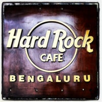 Photo taken at Hard Rock Cafe Bengaluru by Olga B. on 12/25/2012