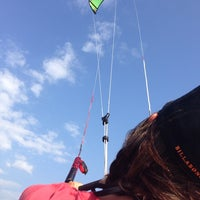 Photo taken at Wind4Love Kitesurfing School Sri Lanka by Zdravka S. on 2/8/2014