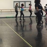 Photo taken at Hubbard Street Dance Center by Milon A. on 2/14/2015