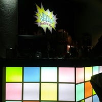 Photo taken at WHAAM! Bar by Xime R. on 1/18/2014