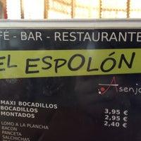Photo taken at Bar El Espolón by Oscar P. on 7/30/2013