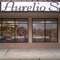 Photo taken at Aurelio Salon & Spa by Aurelio Salon on 5/15/2014