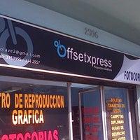 Photo taken at Offset Express by Ricardo C. on 11/5/2012