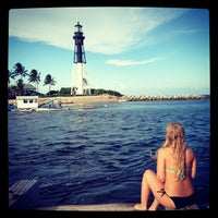 Photo taken at Hillsboro Inlet Lighthouse by Jessica E. on 8/14/2013