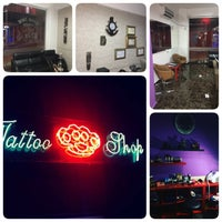 Photo taken at KissİNK-TattooShop by Mehmet T. on 11/30/2016