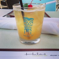 Photo taken at Hula's Modern Tiki by Amber S. on 6/2/2013