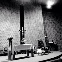 Photo taken at Our Lady's Parish by Nino E. on 5/30/2014