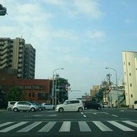 Photo taken at 瀬頭交差点 by ぱくぱくピッピ (. on 7/21/2016