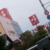 Photo taken at スーパーアウトレットベスト 宮崎東店 by ぱくぱくピッピ (. on 3/13/2016