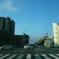 Photo taken at 瀬頭交差点 by ぱくぱくピッピ (. on 8/22/2016