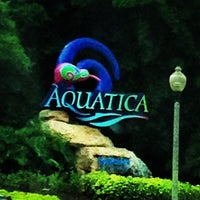 Photo taken at Aquatica, SeaWorld's Waterpark Orlando by Sarah S. on 7/2/2013