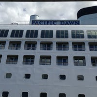Photo taken at P&O Pacific Dawn by Ryan P. on 2/23/2013