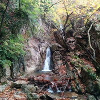Photo taken at Anthoxori waterfall by kou l. on 10/27/2014