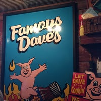 Photo taken at Famous Dave's by Darnell B. on 5/8/2015