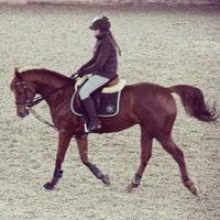 Photo taken at Konjički sportski centar ''L'amour du cheval'' by Elena M. on 2/5/2014