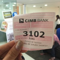 Photo taken at CIMB Bank by SwINg P. on 9/20/2016