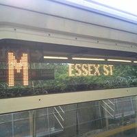 Photo taken at MTA Subway - Middle Village/Metropolitan Ave (M) by Manny B. on 6/14/2014