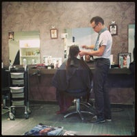 Photo taken at Bert's Coiffure by Lotte D. on 9/26/2014