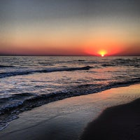 Photo taken at Patara Beach by Erdem D. on 7/27/2013
