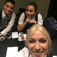 Photo taken at Crew Lounge Do&Co by Gulin D. on 12/5/2016