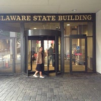 Photo taken at Carvel State Office Building by Heather G. on 8/1/2013