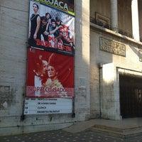 Photo taken at Teatrul Național Timișoara by Ics S. on 5/6/2014