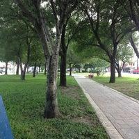 Photo taken at Parque República Mexicana by Jesus s. on 10/12/2013