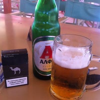 Photo taken at Airport Cafe - Orologas by Dimitris P. on 5/20/2014