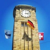 Photo taken at Basel Baden Railway Station by Daugilas K. on 8/1/2014