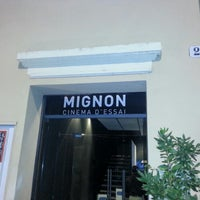 Photo taken at Mignon Cinema d'Essai by Alessandro M. on 10/29/2012