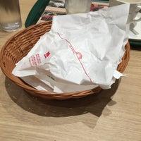 Photo taken at MOS Burger by キャプテン @. on 5/5/2016