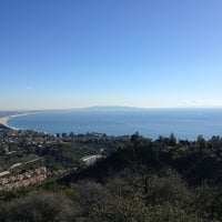 Photo taken at East Topanga Fire Road Trailhead by Michael P. on 1/12/2013