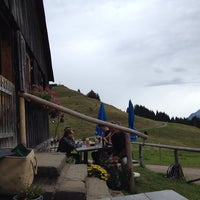 Photo taken at Fahnengehren Alpe by Martin E. on 8/29/2014