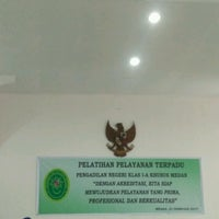 Photo taken at Pengadilan Negeri Medan by Anggi P. on 2/23/2017