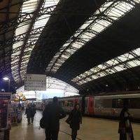 Photo taken at Platform 1 by Adam T. on 1/7/2013