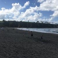 Photo taken at Playa de Barayo by Emilio J. M. on 8/10/2017