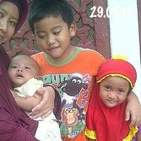 Photo taken at Masjid Agung Baiturrahman Simpang 5,Semarang by wiet on 5/29/2014