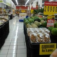 Photo taken at Carrefour by Antariksa S. on 2/27/2014