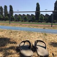 Photo taken at Terrain de Football Ecublens by Klaus O. on 7/15/2015